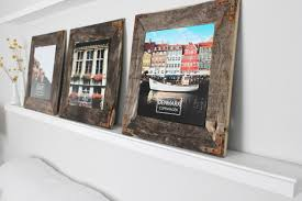richard felt easy diy rustic industrial picture frame