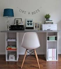 Ikea Reception Desk Hack Ikea Hack How To Build A White Desk With A Miter Saw And A Kreg