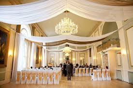 wedding drapes drape for events white voile gold organza ceiling wedding