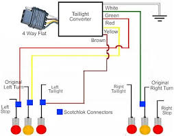 wiring diagram for trailer tail lights gooddy org