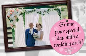 decorating wedding arches to exchange your vows with extra oomph