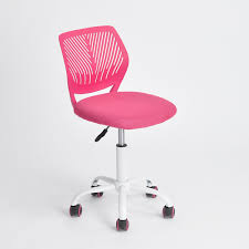 Desk Chair For Kids by Amazon Com Pink Office Task Adjustable Desk Chair Mid Back Home