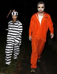 convict halloween costumes holly willoughby claudia winkleman and the linekers lead the way