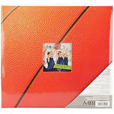 Scrapbook Albums 12x12 Mbi Scrapbook Albums Basketball 12x12 Sports Ebay
