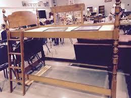 Ethan Allen Bunk Beds Ethan Allen Maple Baumritter Bunk Beds With Ladder And Slats