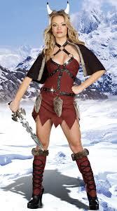 Womens Hunter Halloween Costume Snow Hunter Women Ladies Fancy Dress Party Viking Role Play