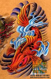 superb koi fish dragon tattoo design tattooshunter com