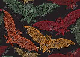 free halloween background texture vector seamless halloween pattern with bat modern stylish texture