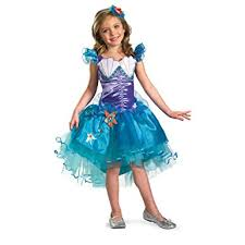 Mermaid Halloween Costume Toddler Amazon Ariel Tutu Prestige Costume Toys U0026 Games