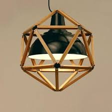 Wrought Iron Pendant Light Age Wrought Iron Black Industrial Barn Cage Pendant Light Retro