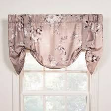 Tie Up Valance Curtains Buy Tie Up Valance Window Curtain From Bed Bath Beyond