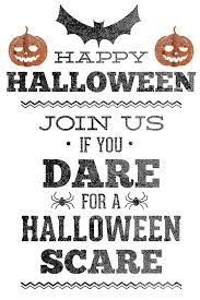 halloween party invitations free printable cimvitation