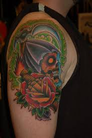 mike pinto olde line tattoo