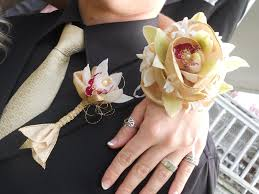 White Corsages For Prom Prom Flowers The Last High Dance Of My Parenting Career