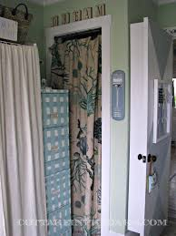 Kitchen Door Curtain by Ready Made Curtains Using Curtains As Doors Cottage In The Oaks