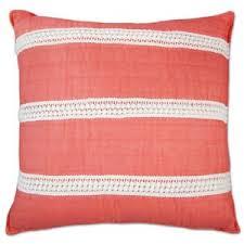elise u0026 james home mini poms coral decorative pillow polyvore
