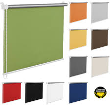 made to measure blackout window roller blinds many colours ebay