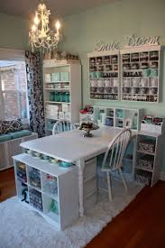 104 best craft room tables organizing images on pinterest i like the organization and the room in general but i think white for an arts crafts room is a terrible idea unless this is before you started arting