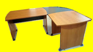 bureau angle professionnel bureau en angle gami professionnel 200 x 160 cm occasion plateau