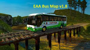 Bus Map Euro Truck Simulator 2 Eaa Bus Map V1 8 Youtube