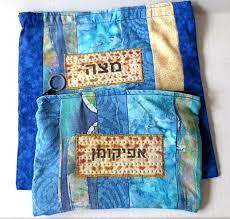 passover matzah cover matzah cover and afikomen bag passover seder matzo quilted batiks