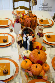Thanksgiving Table Thanksgiving Table Decor Housewives Style Fakesgiving