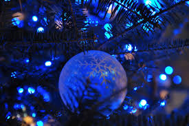 blue christmas lights blue christmas lights and ornament pictures photos and images