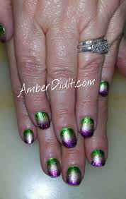 20 best mardi gras nails images on pinterest nail art designs