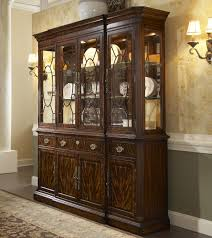 breakfront china cabinet by fine furniture design wolf and
