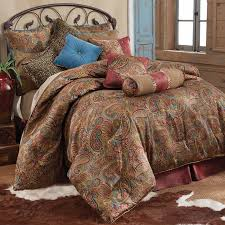 Free Bed Sets Awesome San Angelo Paisley Bedding Set San Angelo Paisley Bedding