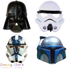 star wars mask darth vader empire storm clone trooper helmet black