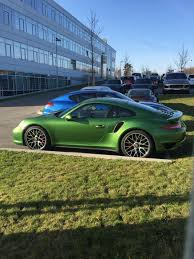 porsche 911 viper green rennteam 2 0 es forum official new 991 2 turbo and turbo s