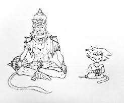 son goku and hanuman note son goku is based on sun wukon u2026 flickr