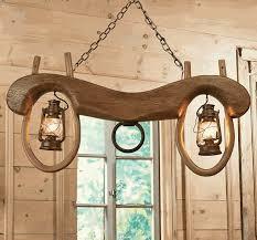 ox yoke pendant light with lanterns