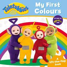 teletubbies colours lift flap u2013 egmont