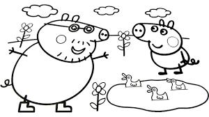 peppa pig coloring book peppa pig kids fun art activities video