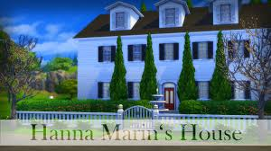 the sims 4 speed build hanna marin u0027s house part 1 youtube