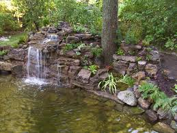 images about woodland waterfalls backyard makeovers home pond