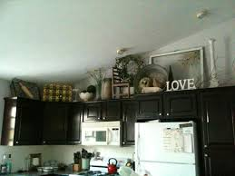 ideas for decorating above kitchen cabinets 42 best decor above kitchen cabinets images on kitchen