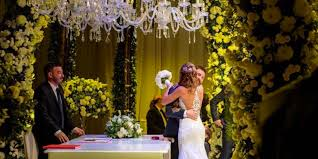 Wedding Arch Ebay Uk Photos Messi U0027s Star Studded Wedding In Argentina Business Insider