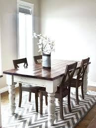 Black Extendable Dining Table Two Toned Dining Table U2013 Letitgolyrics Co