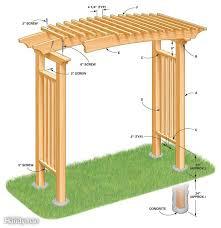 garden arbor plans 90 best arbor plans images on pinterest woodworking plans garden