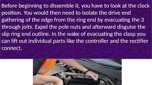 lexus is300 alternator replacement see how alternators repairs johannesburg made easy alternators