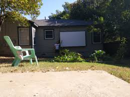 How To Make A Backyard Movie Theater Diy Back Yard Movie Theater Album On Imgur