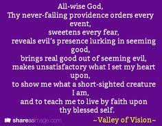 valley of vision puritan prayers from the valley of vision a collection of puritan prayers