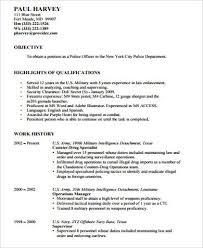 police resume customs police trainer cover letter police cover