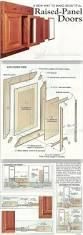 making raised panel doors cabinet door construction and