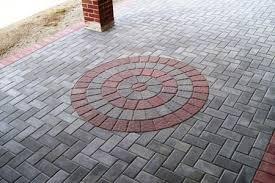 Circle Paver Patio Kits Pavers Patio Circle Design Kit 0049lg