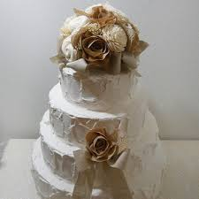 burlap cake toppers shop flower wedding cake toppers on wanelo