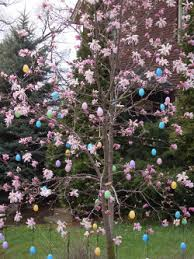 photos of decorations for easter and